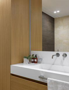 bathroom Bathroom Lighting, Interior Design, Mirror, Furniture, Home Decor, Bathroom Light Fittings, Nest Design, Bathroom Vanity Lighting, Decoration Home