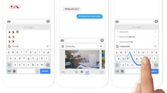 Google releases keyboard for the iPhone with built-in search features | The Verge