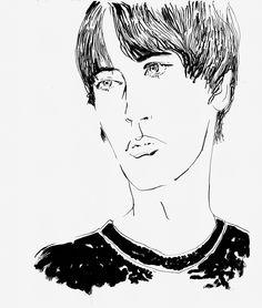 'Boy' by Eunjeong Yoo  http://www.eunjeongyoo.com/projects/faces-in-black/