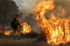 07/25/2016 - The Los Angeles County Fire Department says about 10,000 homes have been evacuated as crews protect mountain and canyon communities from a ferocious wildfire that's destroyed 18 houses.