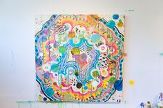 Liz Tran's Colorful, Glittering, Globe-Trotting Art | City Arts