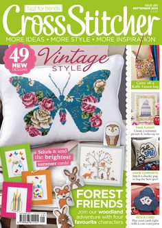 September 2014 issue of CrossStitcher