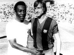 El Santos de Pelé y el Barça de Cruyff se enfrentaron en 1974 en el Trofeo Ramón de Carranza