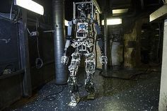 Manga Becomes Real! This Giant, Humanoid Robot Puts Out Fires  #fire #military #robot