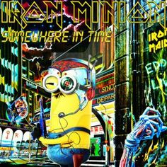 Iron Minion - Somewhere in Time by croatian-crusader