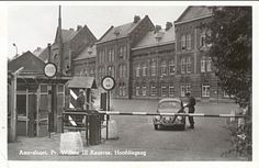 Pr. Willem III kazerne hoofdingang