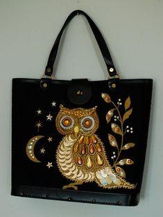 Vintage Enid Collins Inspired Embellished bag: