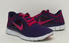 los angeles 8492c 0f903 Nike Wmns Free Run 3 Running Shoes 510643 401 Womens 5 5 6 6 5 Available    eBay