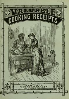 1880 Valuable Cooking Receipts - Murray, Thomas Jefferson