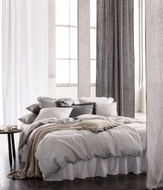 Sängkläder i linne   H&M Home