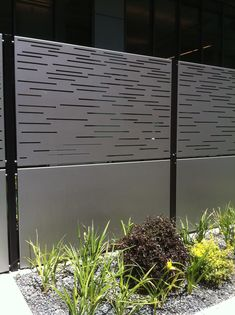 15 schönsten Stahlzaun Panels Wohnideen 15 most beautiful steel fence panels living ideas Wood Privacy Fence, Privacy Fence Designs, Concrete Fence, Decking Fence, Brick Fence, Pallet Fence, Bamboo Fence, Pool Fence, Gabion Fence