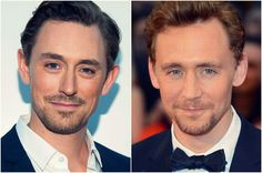 JJ Feild and Tom Hiddleston. How have you two not played brothers in a movie yet?
