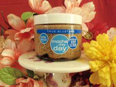 NEW Bath & Body Works True Blue Spa Mocha My Day Body Scrub Retired and HTF!! #BathBodyWorks