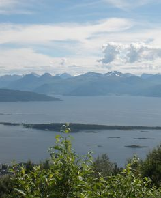 Norway, Molde. Looking out from atop Varden, this is perhaps only a third of the panoramic view you see from there.