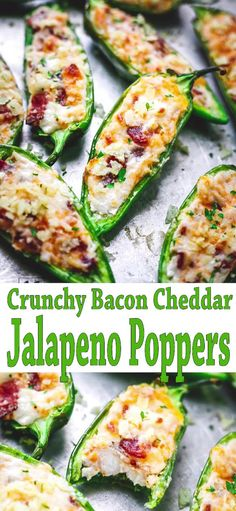Crunchy Bacon Cheddar Jalapeno Poppers is by far the Best Jalapeno Poppers Recipe on Internet. Crowd's Favorite Thanksgiving Appetizer you can make ahead. Best Thanksgiving Side Dishes, Thanksgiving Appetizers, Great Appetizers, Healthy Appetizers, Thanksgiving Recipes, Appetizer Recipes, Appetizer Ideas, Jalapeno Poppers, Jalapeno Popper Recipes