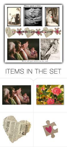 """Generations of love"" by sheila-ball ❤ liked on Polyvore featuring art"