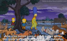 "here-is-the-food: ""Los Simpson """