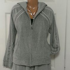 Comfy grey tracksuit size extra large This track suit is in great condition by humility.  This listing is for the tracksuit only. Humility Other