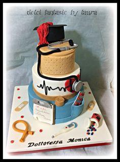 Nurse cake - torta laurea infermieristica