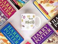 Harry Potter mug  Coffee Mug  Harry Potter by ImBookishandBakewell