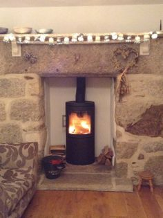 My Hwam Stove in place
