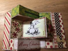 Kerstkaart Atc, Decorative Boxes, Card Making, Scrapbook, Homemade, Frame, Cards, Pictures, Frames