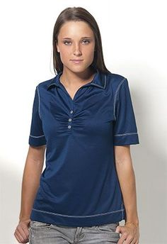 Key West-W - Short Sleeve Syntrel™ Polo