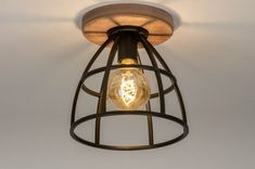 Ceiling Lamp, Ceiling Lights, Industrial, Interior Inspiration, New Homes, Lighting, Furniture, Home Decor, Aging Metal