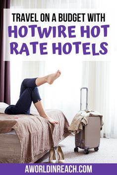 Hotwire Hot Rate Hotel Deals are one of my favorite ways to travel on a budget. Check out this post to see exactly how you can see the name of your mystery Ways To Travel, Travel Advice, Travel Tips, Travel Hacks, Travel Ideas, Travelling Tips, Travel Destinations, Free Travel, Travel Packing