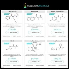 The Home of research chemicals is an online store where you can buy chemicals cheaper than in any your local store or shop. Buy Now multiple choices of chemicals at affordable rate at http://www.theresearchchemicals.com/products/ for your research industries.
