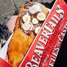Decisions, especially dessert-related decisions, can be tough. Why not get the best of both worlds with a half-and-half BeaverTails pastry? Instagram photo by @allthingsbex (allthingsbex)