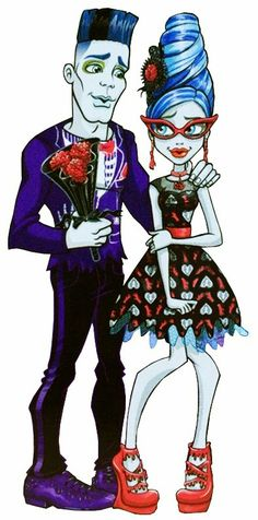 Monster High - Slow-Mo and Ghoulia