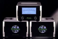 McIntosh MC2KW Monoblock Power Amplifier       Amplifiers are the driving force behind any great system. McIntosh blend eye catching beauty...