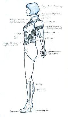 Quorra Costume Design