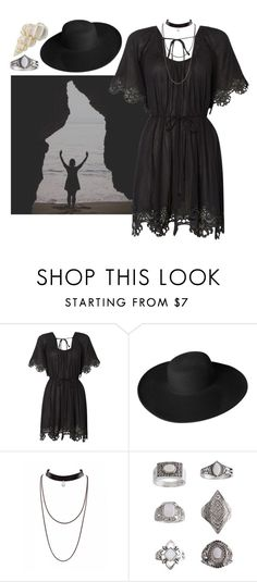 """Sea Witch"" by septembrie ❤ liked on Polyvore featuring Seafolly, Dorfman Pacific, Topshop, goth, sea, witch and witchcraft"