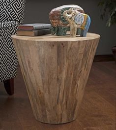 IMAX Fabiola Wood Accent Table