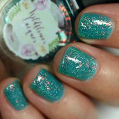 Wildflower Lacquer Don't Play Koi swatch Nail Polish Blog, Metallic Colors, Gorgeous Nails, Little Star, Koi, Swatch, Girly, Play, Style