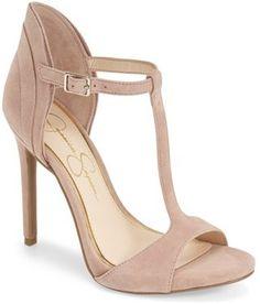 Jessica Simpson Jessica Simpson 'Rayanna' T-Strap Sandal (Women)