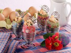 Crema di uova colorate