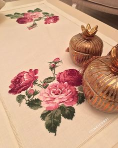 Cross Stitch Embroidery, Hand Embroidery, Bed Covers, Needle And Thread, Hobbies And Crafts, Pattern, Gifts, Jack And Jill, Cross Stitch Rose