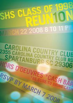 Reunion invites