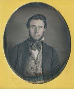 Handsome man. daguerreotype