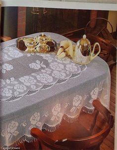 tablecloth - Crochet Knitting Handicraft