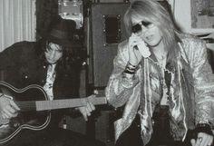 Izzy Stradlin N' Axl Rose /Guns N' Roses/