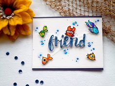 Friend card by Sabina - Paper Smooches