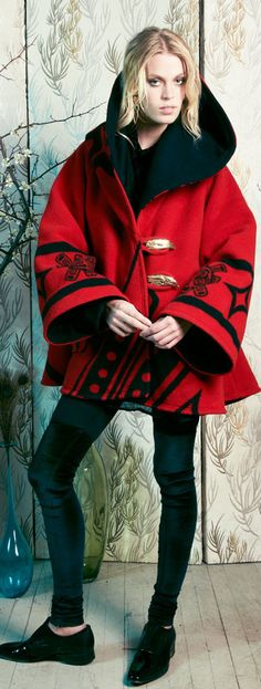 Raven Cloak, Pendleton by Lindsey Thornburg