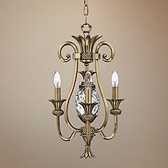 Hinkley Plantation Collection Open Three Light Chandelier