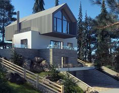 New Work, Behance, Profile, Homes, Mansions, Architecture, House Styles, Gallery, Check