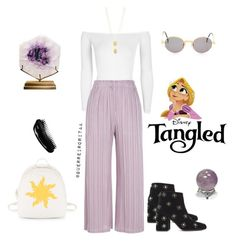 Designer Clothes, Shoes & Bags for Women Disney Fashion, Issey Miyake, Disney Style, Jean Paul Gaultier, Tangled, Boohoo, Steve Madden, Inspired, Shoe Bag