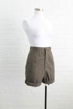 1950s Vintage Bermuda Shorts